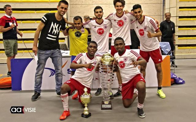 Nesselandia Rotterdam won uiteindelijk het toernooi