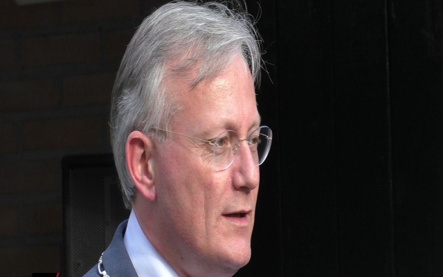 burgemeester Arjan Gerritsen