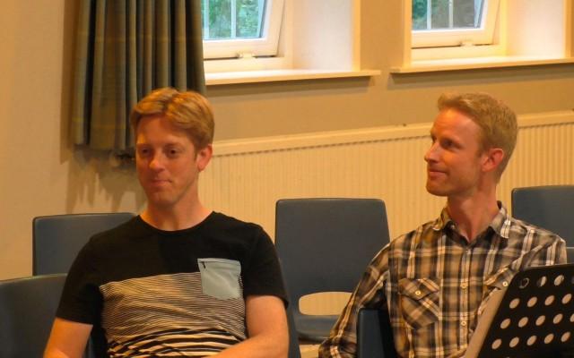 Dirigenten Stephan en Martijn Blaak