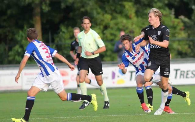 Twee doelpunten van Vincent Vermeij