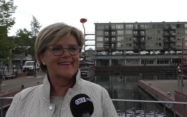 Wethouder Christien van Wijk: gemeente doet haar best.