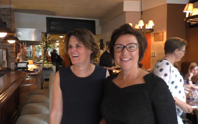 Tamara ten Brinke en Astrid Schelvis