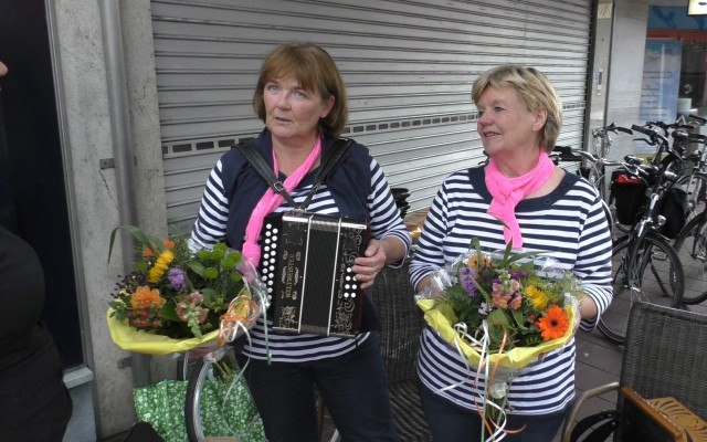 Anja Bekhuis en Ina ter Haar van de Jennechies