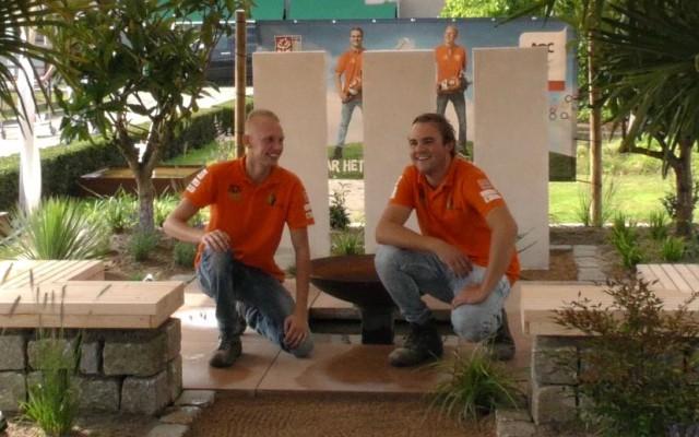 Stefan en Timo van AOC-Oost naar Abu Dhabi