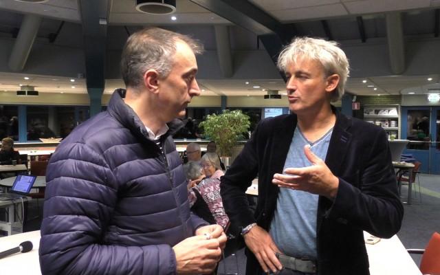 Peter van der Hout van BW in gesprek met Peter Prak