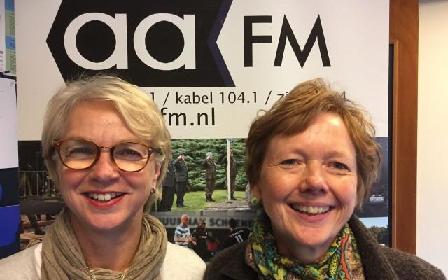 Erna Brok en Lilian Mekenkamp