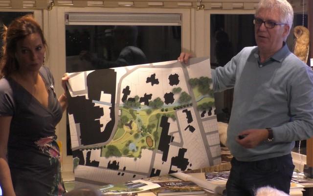Heleen Eshuis en Rob Hazelhof presenteren de plannen