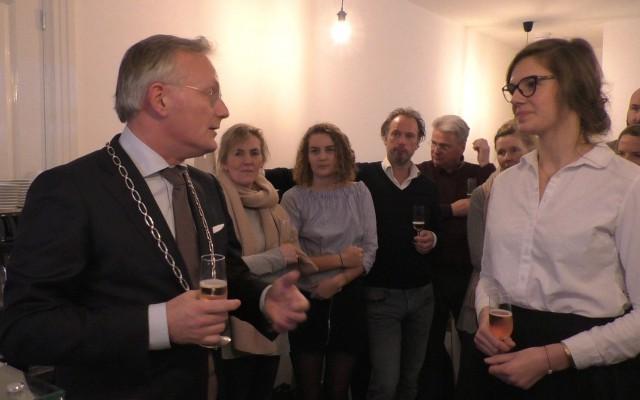 Burgemeester Gerritsen opent By Zoe