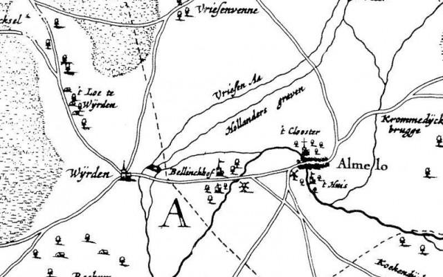 een gedeelte van de historische Groene Long