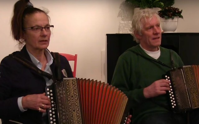 Harmonicaduo Giny en Jan Wessels van de Diekinks