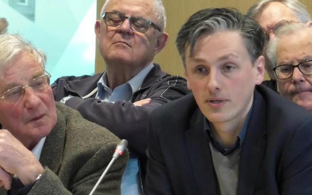 (l)Gijs Stork (LAS) en Jeroen Wiertz (D66)(r)