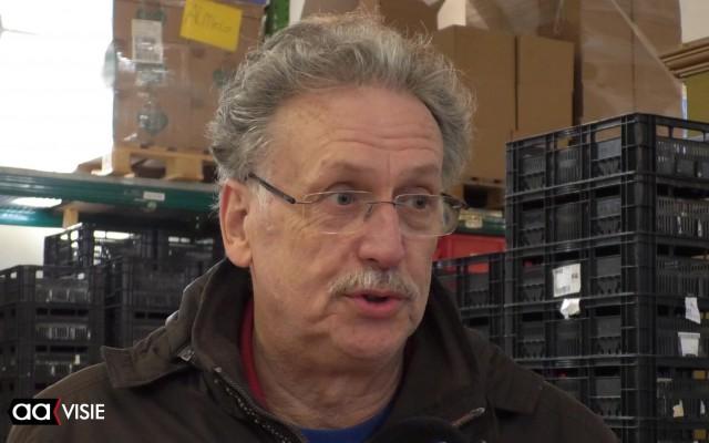 Penningmeester Johan van Loon van de Voedselbank