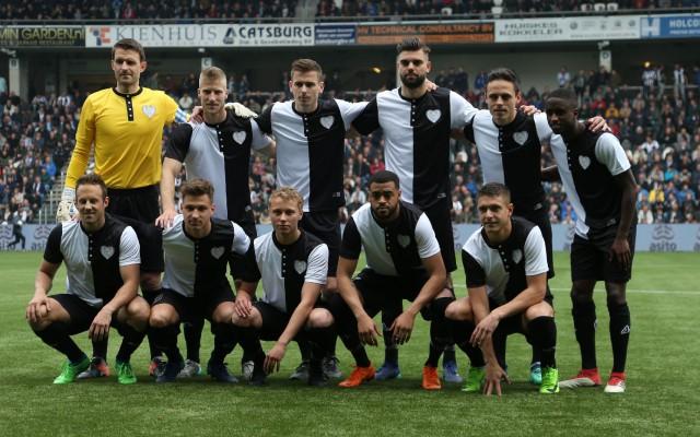 Teamfoto Heracles-FC Utrecht