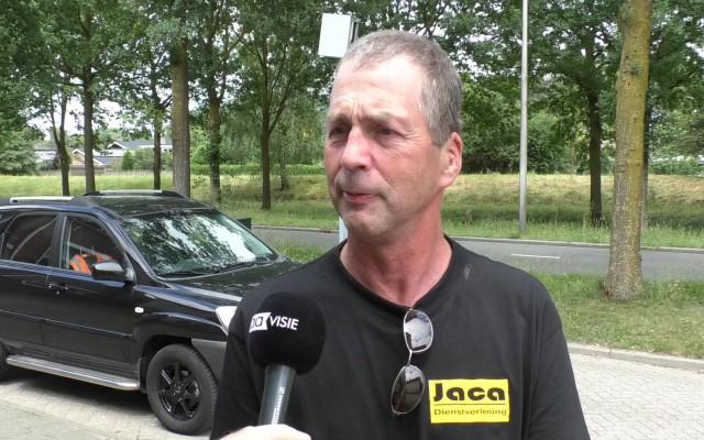 Jan Lucas woont vlakbij de paal