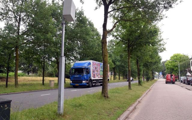 Langs de Wierdenseweg loopt een ventweg.