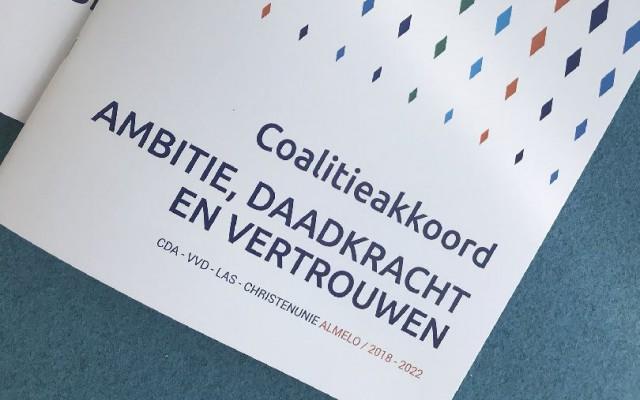 Coalitieakkoord 2018-2022 'Ambitie, daadkracht en vertrouwen'