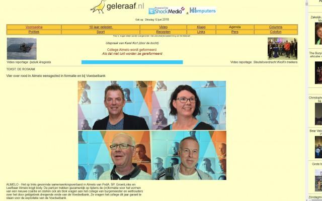 webpagina Geleraaf
