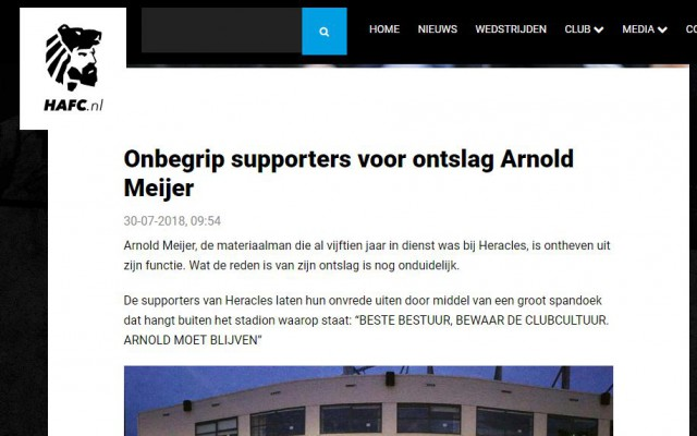 Website meldt ontslag