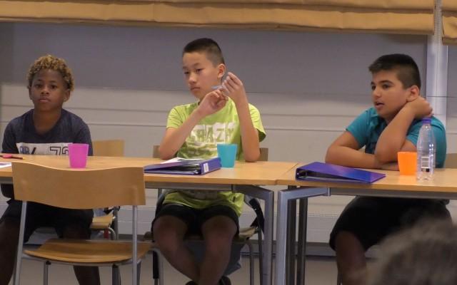 Talenta studenten bedenken Europees fingerfood