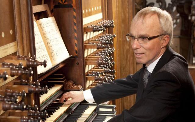 Organist Jaap Zwart