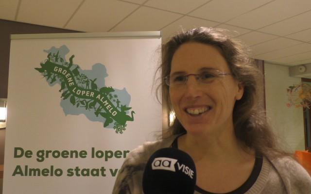 Ir.Malika Cieremans gaf lezing over voedselbossen
