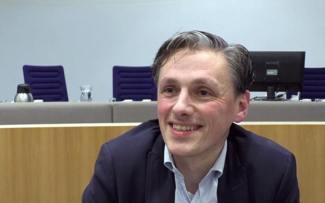 Jeroen Wiertz, fractievoorzitter D66