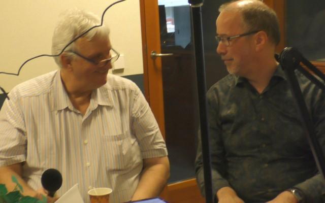 Gerrit Lubbers en Gerrit Steenhagen, songfestivalfans
