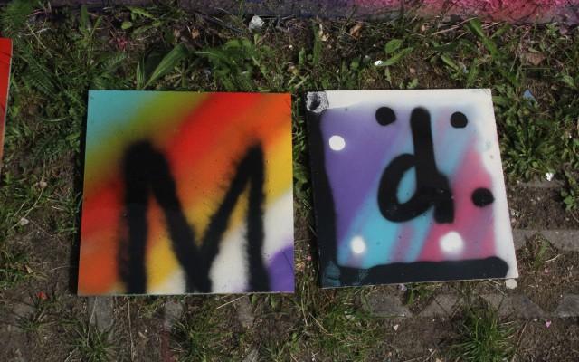 eind resultaat graffiti