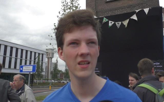 Wouter Büthker, maker van de app Elastic