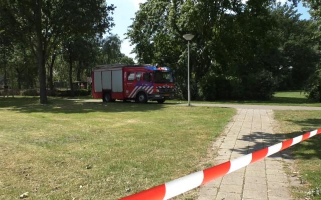 Politie en brandweer waren snel ter plaatse