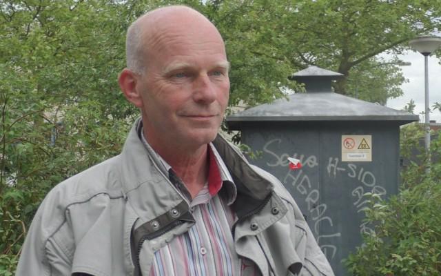 Henk Engberts, installatie verantwoordelijke van Coteq