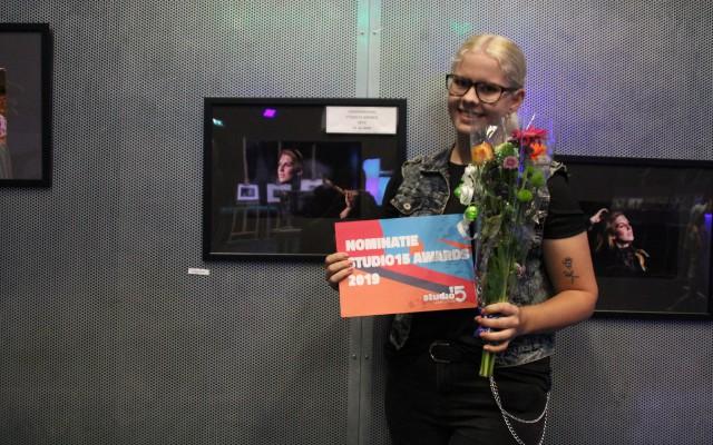 Gabrielle Lodewijks, genomineerd in de categorie 15-30 jaar
