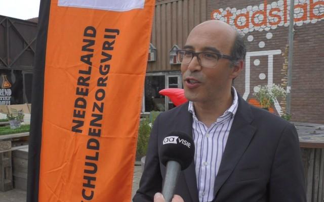 Sadik Harchaoui, initiatiefnemer SchuldenlabNL