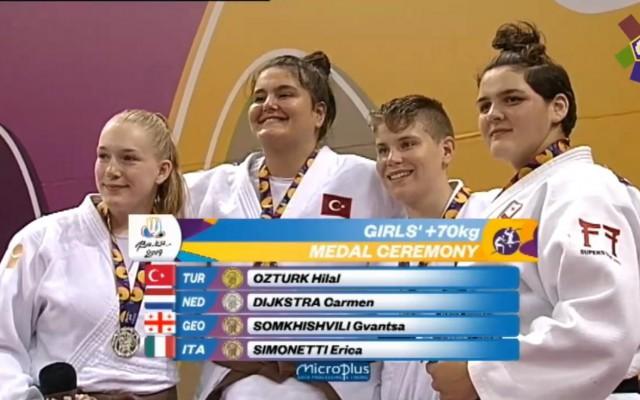 Judoka Carmen Dijkstra