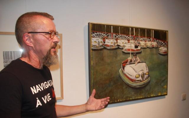 Jasper van Deutekom geeft uitleg over zijn werk