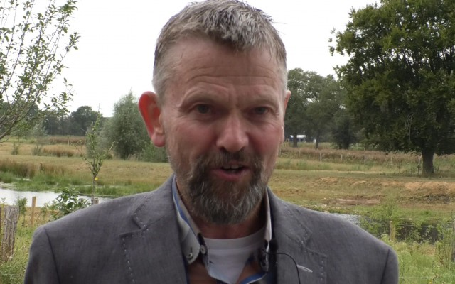 Jan Bartels, voorzitter Stichting Dorpsbelangen Bornerbroek
